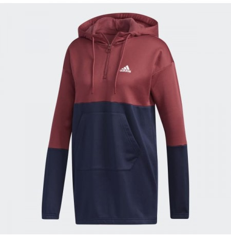 ADIDAS SWEAT HD 3/4 ZIP NEW A SRA