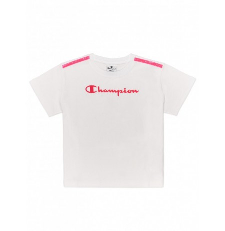 CHAMPION T-SHIRT CROP 403895 GIRL