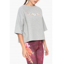 DESIGUAL SWEAT 3/4 REVERSIBLE TROPIC SRA